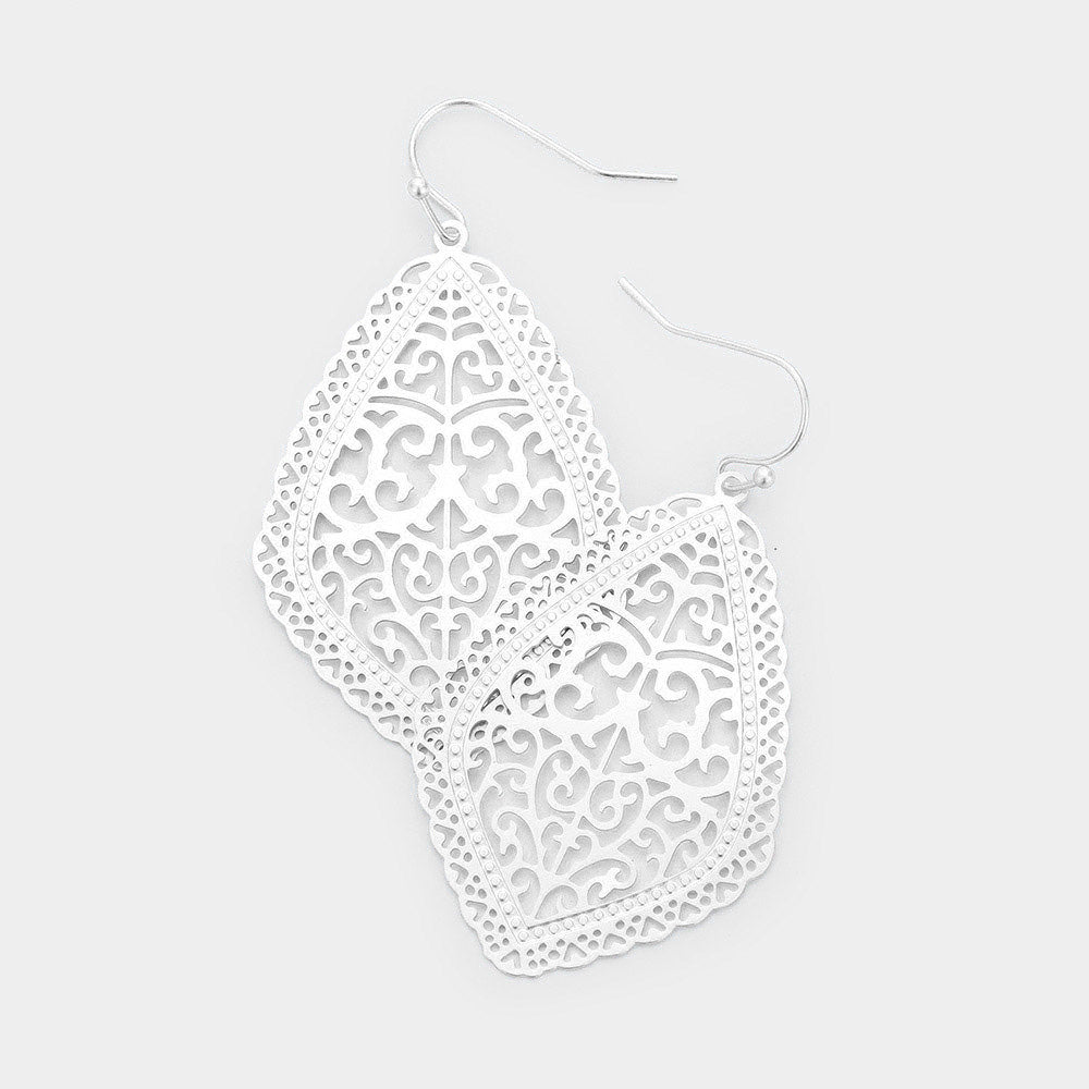Moroccan Filigree Earrings |4 colors|