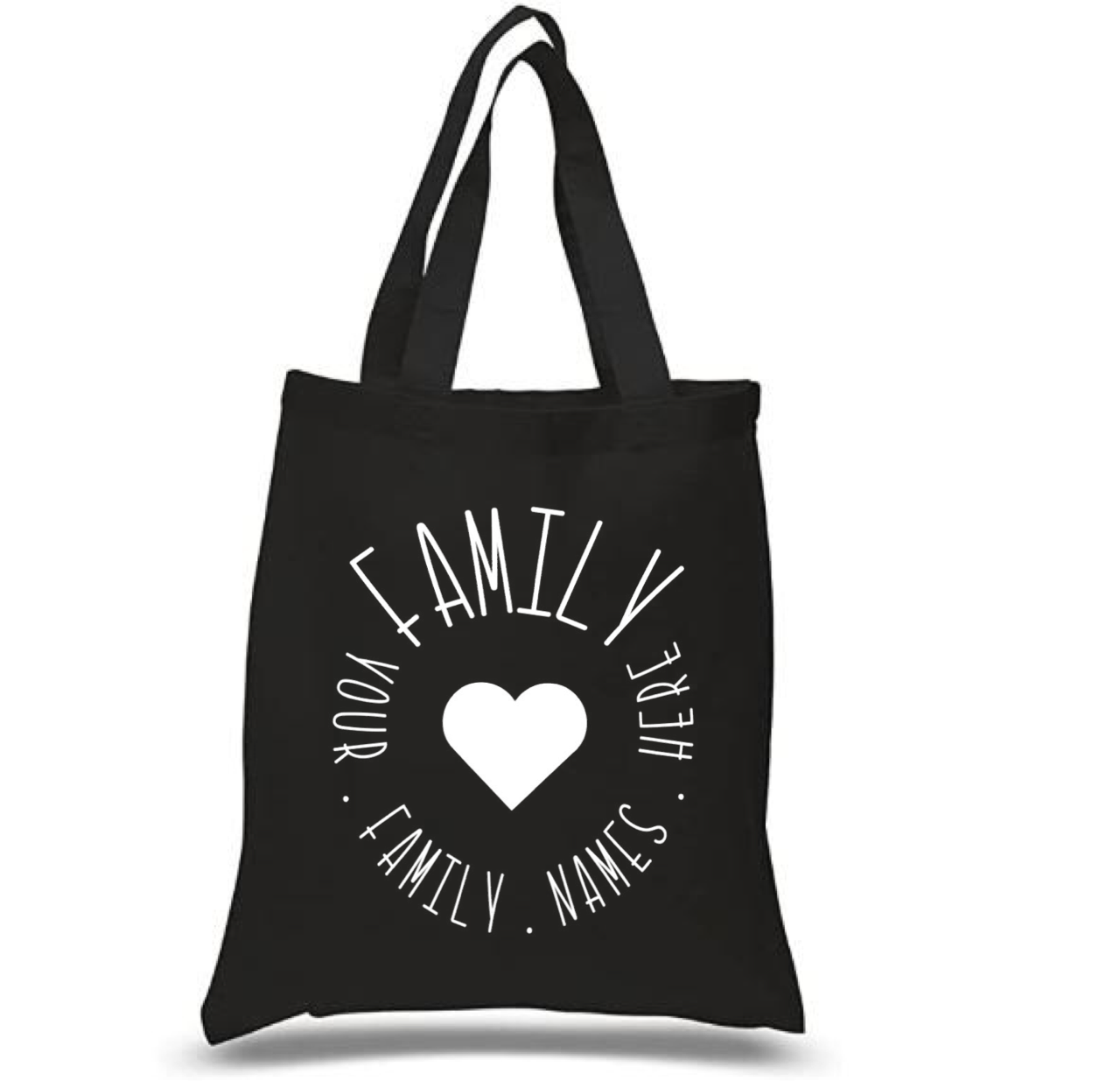 Tote Bag: Family Circle * Personalized