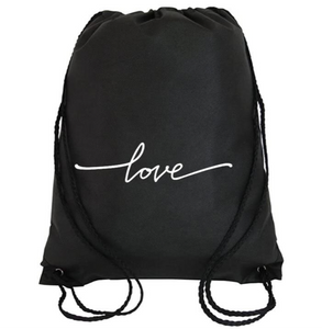 Cinch Bag: Love