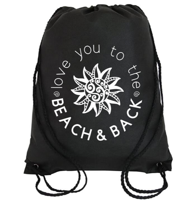 Cinch Bag: Love You to the Beach and Back