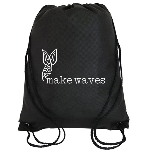 Cinch Bag: Make Waves