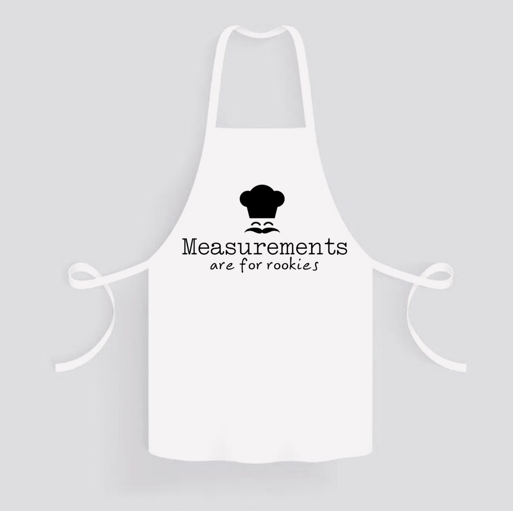Apron: Measurements are for Rookies