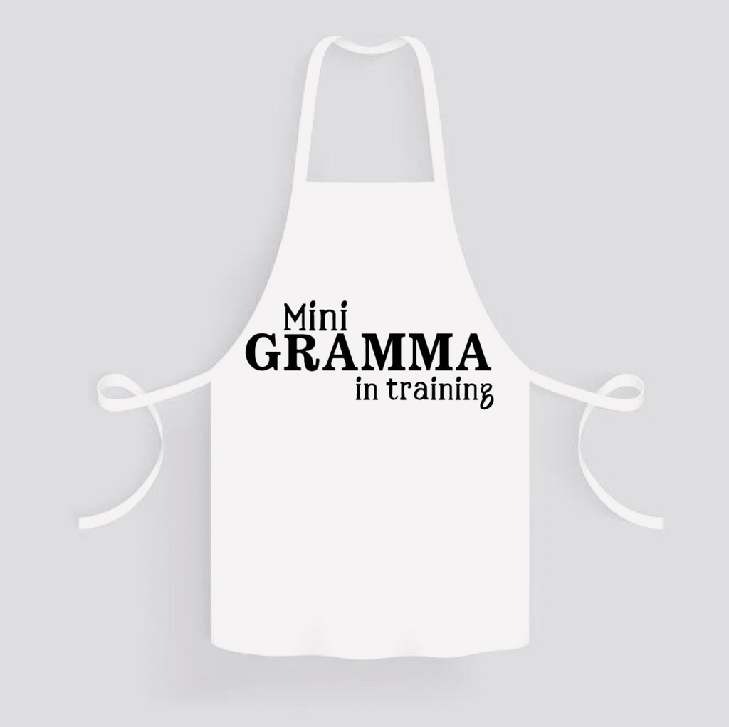 Apron: Mini Gramma in Training