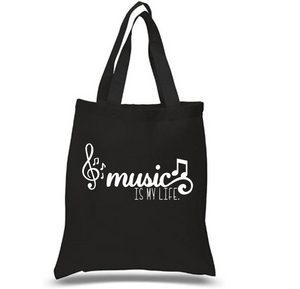 Tote Bag: Music is my Life