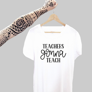 Custom Designs for Teachers