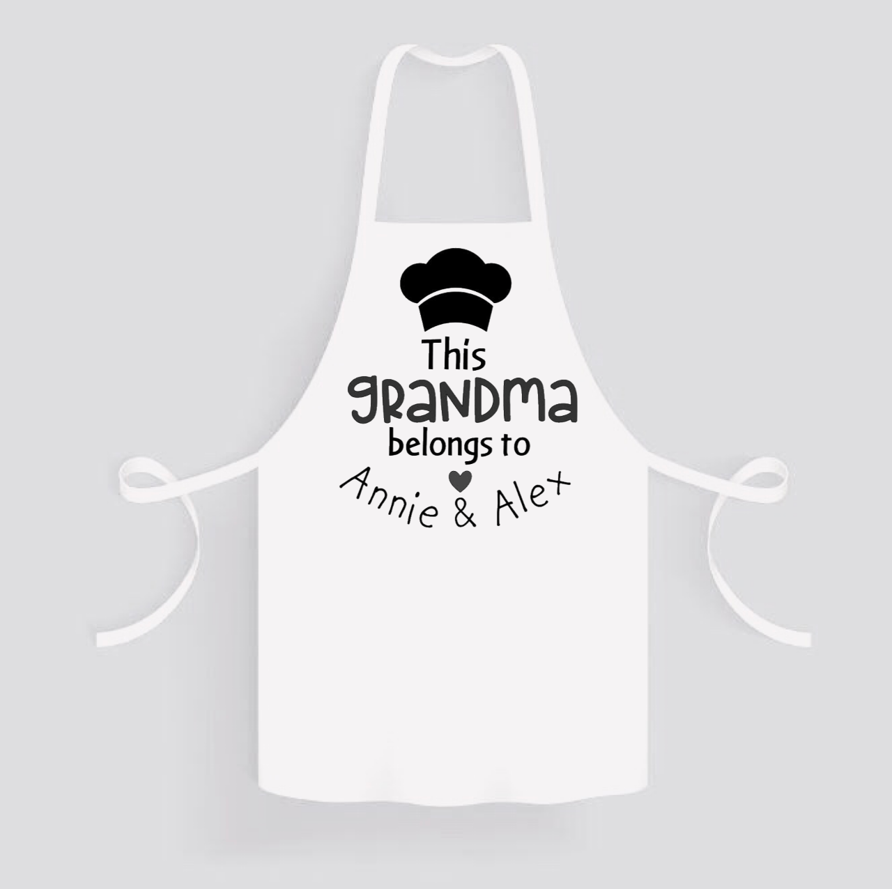 Apron: This Grandma belongs to * Personalized
