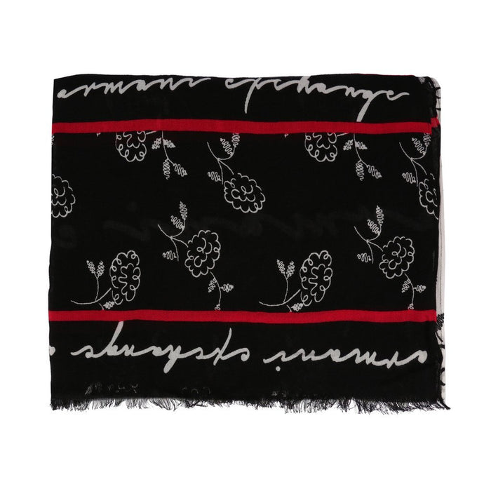 Armani Exchange Flower Scarf, Women's