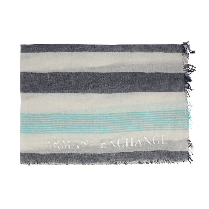 Armani Exchange Striped Scarf, Women's