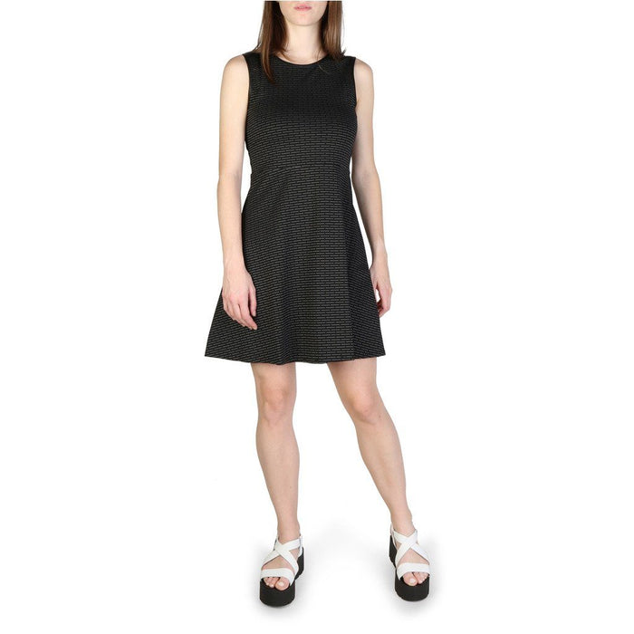 Armani Exchange Patterned A Line Dress, Women's