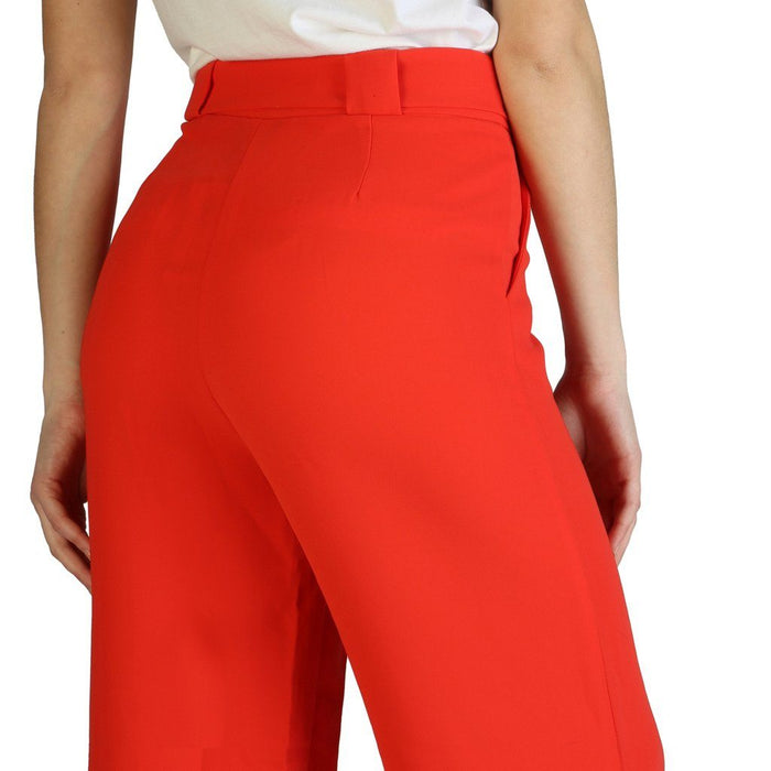 Armani Exchange Flare Pants, Red, Women's