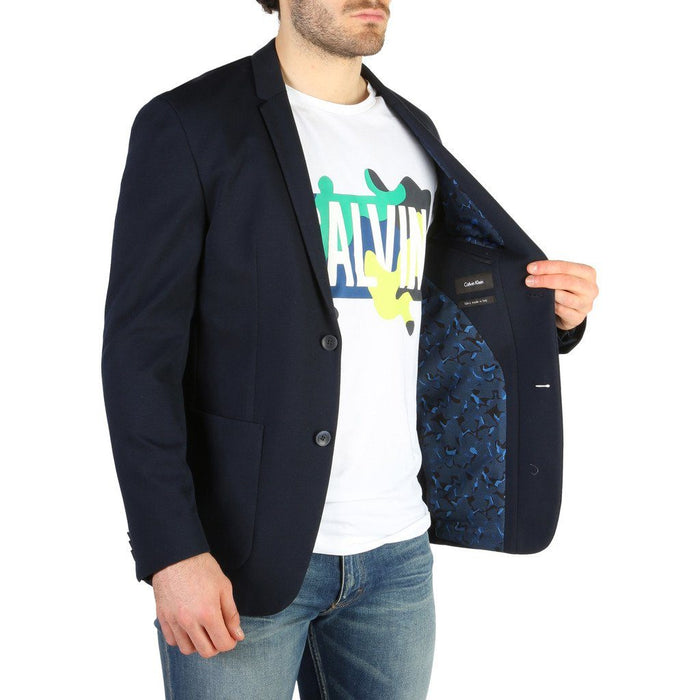 Calvin Klein Casual Blazer, Navy, Men's