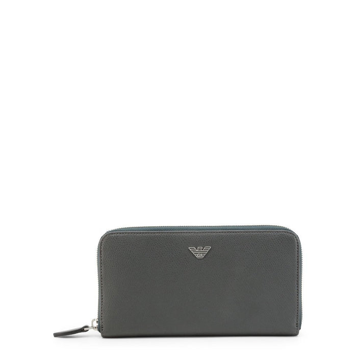 Emporio Armani Leather Long Wallet, Unisex