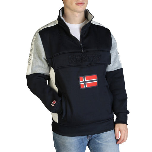 Geographical Norway Fagostino Half Zip Pullover, Men's