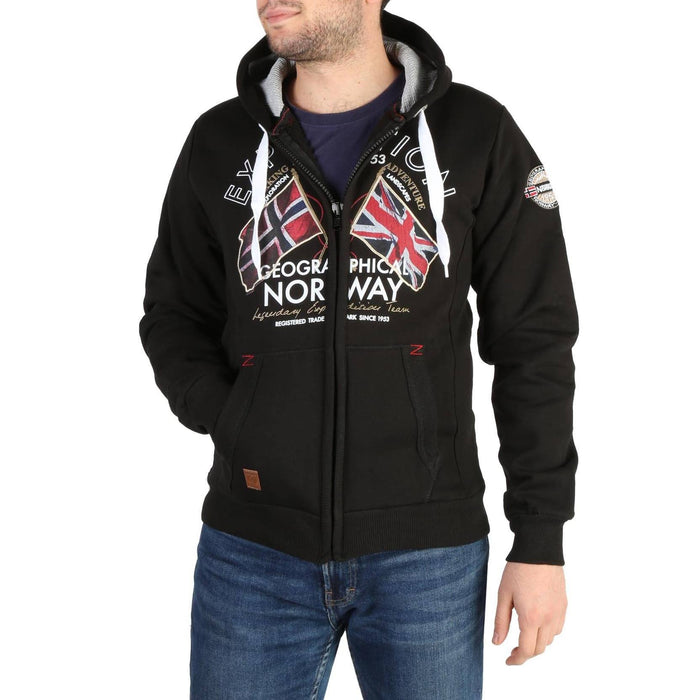 Geographical Norway Flepto Zip Up Hoodie, Men's