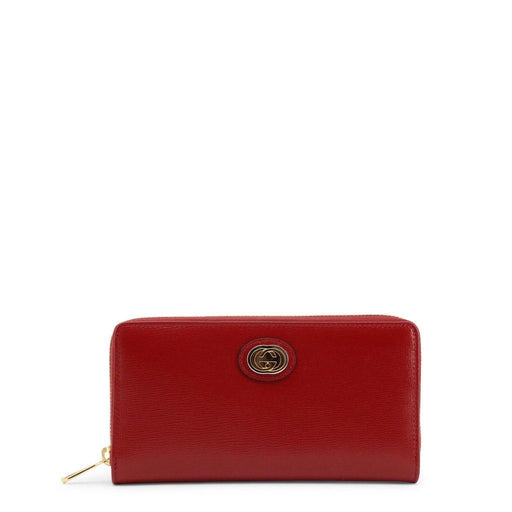 Gucci Zip Around Leather Wallet, Women's