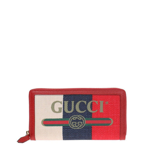 Gucci Canvas Continental Wallet, Unisex
