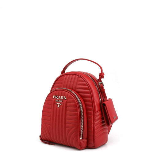 Prada Diagramme Quilted Backpack, Women's