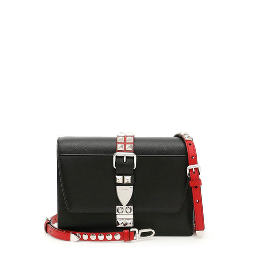 Prada Elektra City Calf Saffiano Crossbody Bag, Women's