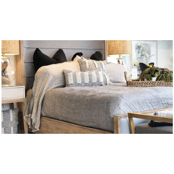 Queen Urban Upholstered Bed