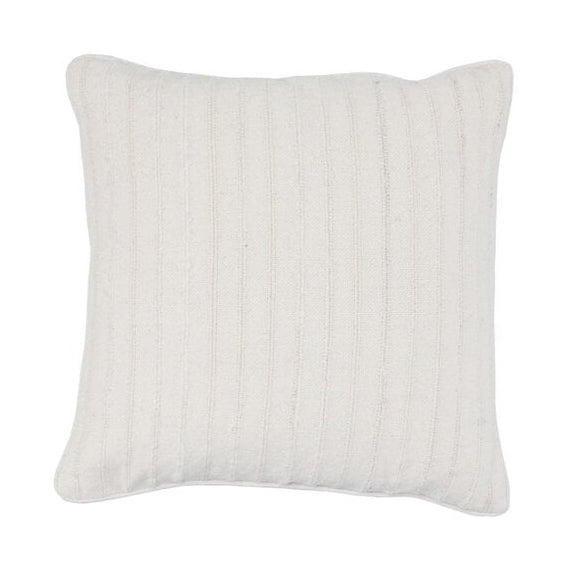 White Linen Pillow