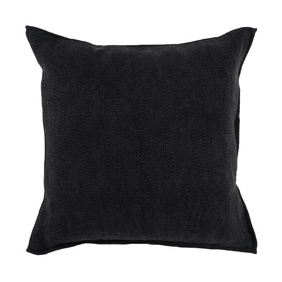 Black Texture Pillow