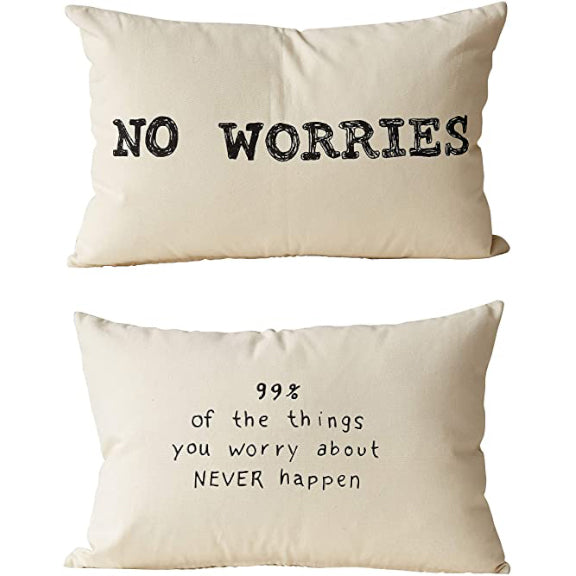 No Worries Pillow