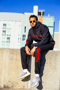 Custom City Skyline Hoodie & Sweatpants Set
