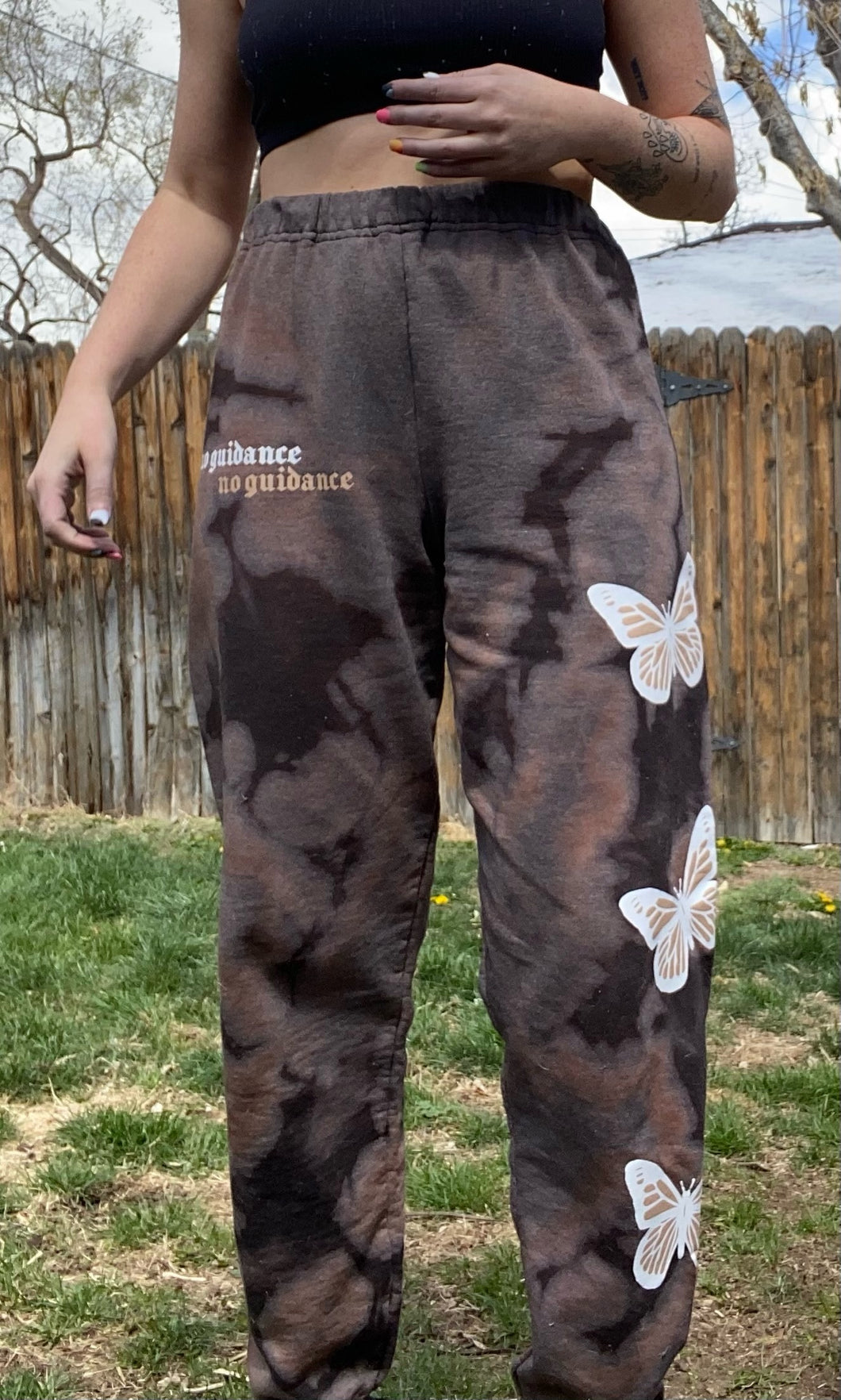 NG acid wash butterfly sweats