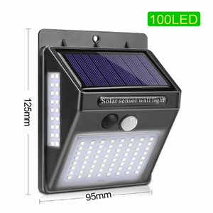 100 LED Solar Light Waterproof Lamp For Garden aplanter