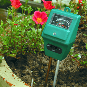 3 in 1 Soil PH Meter Flower Pot Hygrometer Soil Tester aplanter