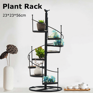 8 layer Stair shape Iron Plant Rack Metal Stand aplanter