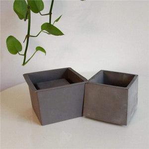 Cement Molds Succulent Plants Pot aplanter