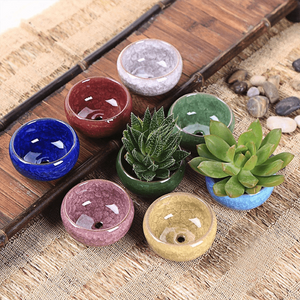 Ceramic Flower Pots (Set Of 8) aplanter