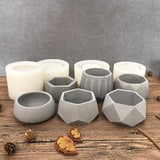 Concrete Flower Plants Pot Molds aplanter