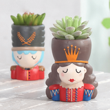 King Queen Soldier Succulent Plant Pots aplanter
