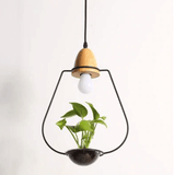 Modern Minimalist Creative Design Garden Pendant Light aplanter