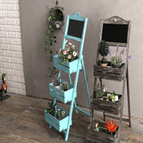 Outdoor Indoor Plant Ladder Shelf aplanter