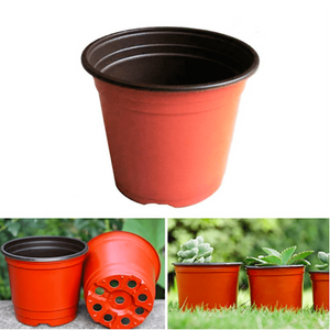 Plastic Flower Pots - 10 pieces per set aplanter