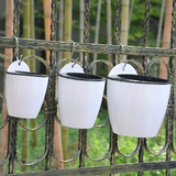 Self Watering Wall Hanging Flower Pots aplanter