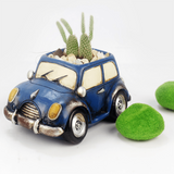 Set of 4- Bus, Car, Tricycle, Bike Succulent Planters aplanter