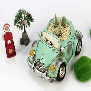 Set of 4- Retro Car Succulent Planters aplanter