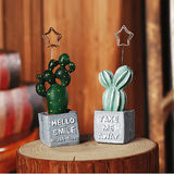 Succulent Cactus Memo Holder aplanter