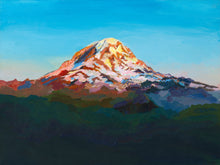 Load image into Gallery viewer, Rainier Sunset - 9x12