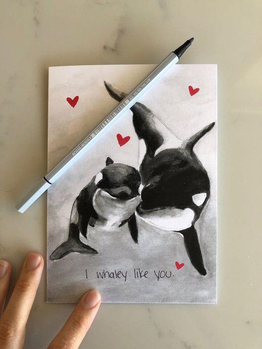 I Whaley Like You - card set