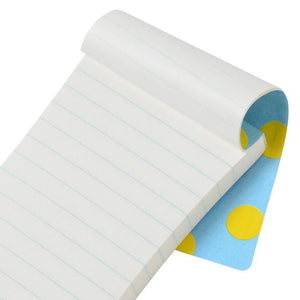 Silhouette Waterproof Memo Pad | Yellow Dot-S
