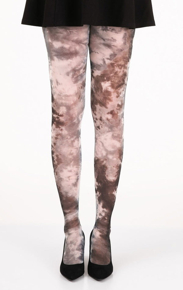 Tie-Die Art Full Foot Tights