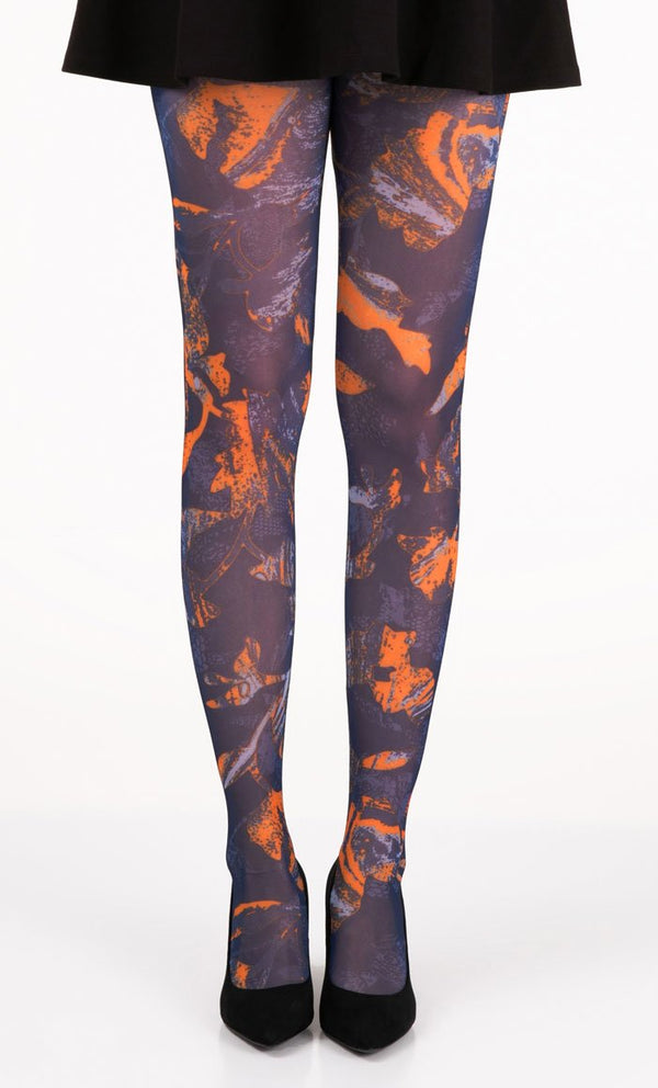 Abstract Bliss Full Foot Tights