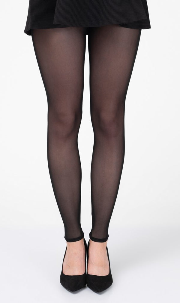 Black Footless Tights