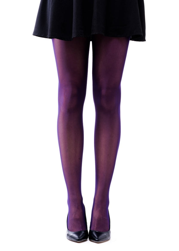 Eggplant Full Foot Tights