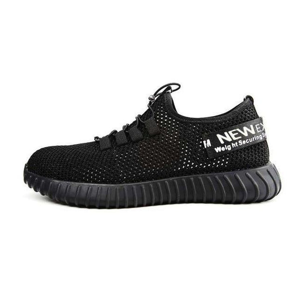 Indestructible Breathable Black Shoe